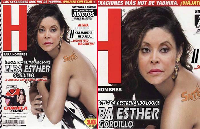 Elba Esther Gordillo Sin Ropa Para La Revista H El Ruinaversal